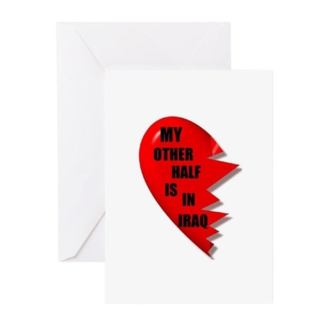 MY OTHER HALF IRAQ Greeting Cards (Pk of 10)