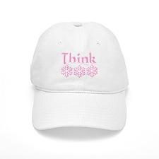 Think Snow Pink Baseball Cap