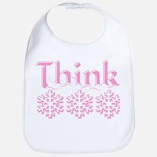 Think Snow Pink Bib