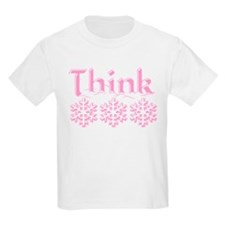 Think Snow Pink T-Shirt