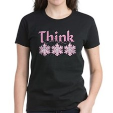 Think Snow Pink Tee