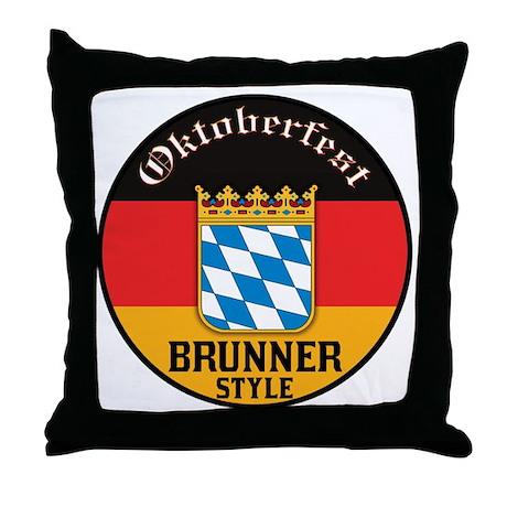 Brunner Oktoberfest Throw Pillow