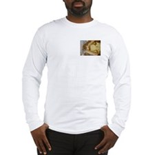 Long Sleeve Cheese Steak T-Shirt