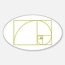 Golden Ratio Decal
