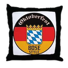 Bose Oktoberfest Throw Pillow