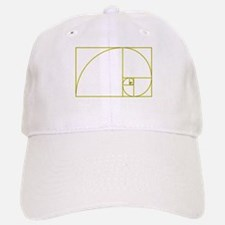 Golden Ratio Baseball Baseball Cap