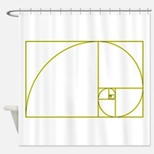 Golden Ratio Shower Curtain