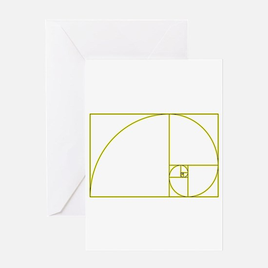 Golden Ratio Greeting Cards