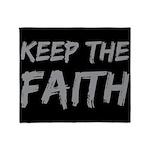 Keep the Faith Throw Blanket