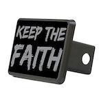 Keep The Faith Rectangular Hitch Cover