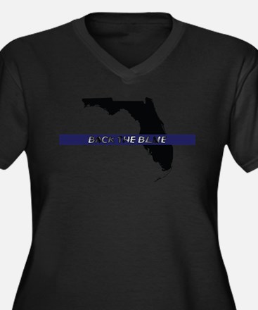 Back the Blue Florida Plus Size T-Shirt