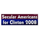 Secular Americans for Clinton 2008