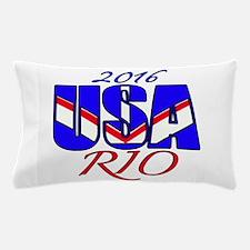2016 USA RIO Pillow Case