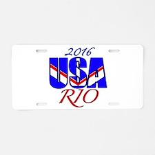 2016 USA RIO Aluminum License Plate