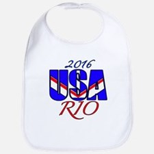 2016 USA RIO Bib