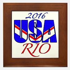 2016 USA RIO Framed Tile