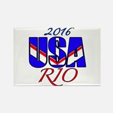 2016 USA RIO Rectangle Magnet