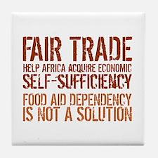 Fair Trade Tile Coaster