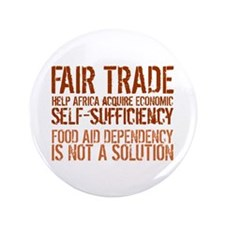 "Fair Trade 3.5"" Button"