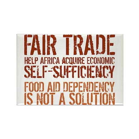 Fair Trade Rectangle Magnet (10 pack)