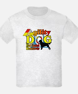 Flat-Coated Retriever Agility T-Shirt