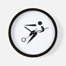 Team Soccer Wall Clock