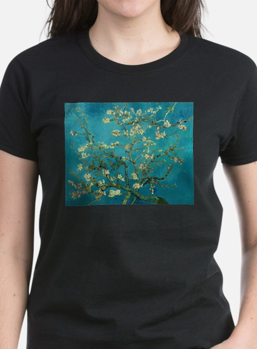 Vincent Van Gogh Blossoming Almond Tree T-Shirt