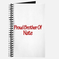 Proud Brother of Nate Journal