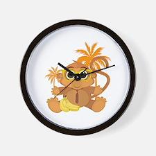Monkey Nerd Wall Clock