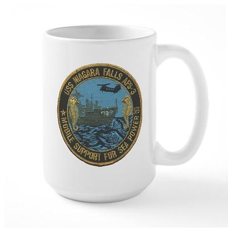 USS NIAGARA FALLS Large Mug