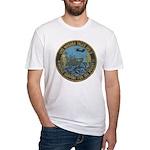 USS NIAGARA FALLS Fitted T-Shirt