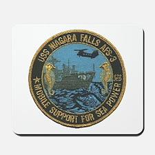 USS NIAGARA FALLS Mousepad