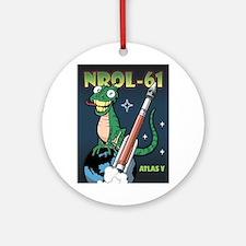 NROL 61 Mission Art Round Ornament