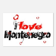 i love Montenegro Postcards (Package of 8)