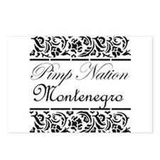 pimp nation Montenegro Postcards (Package of 8)