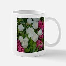 white tulip Mug