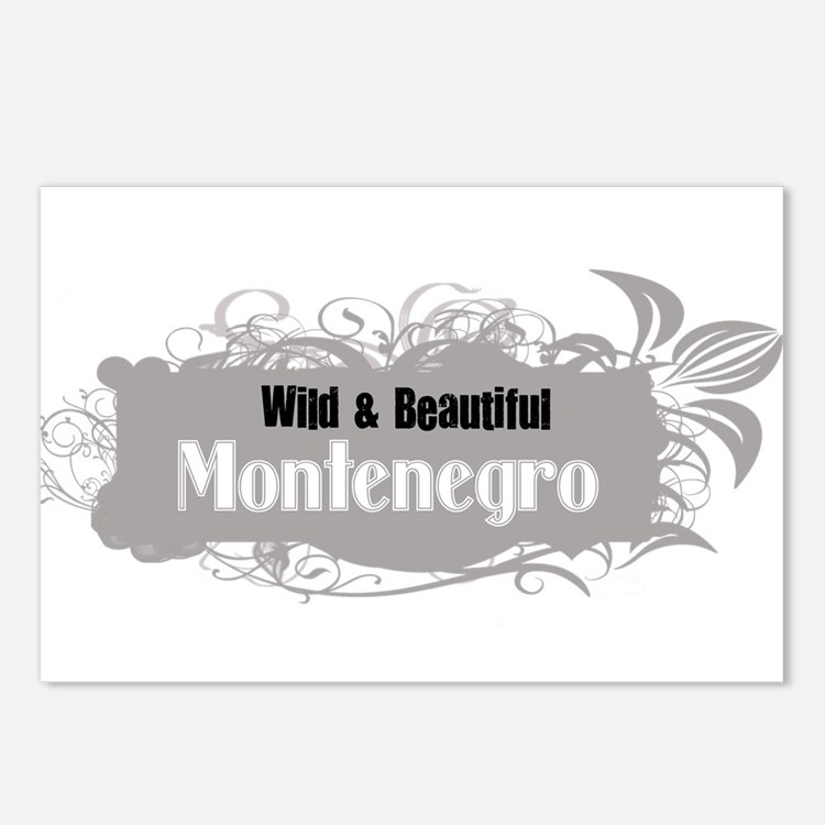 Wild Montenegro Postcards (Package of 8)