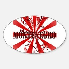 Montenegro vintage Oval Decal