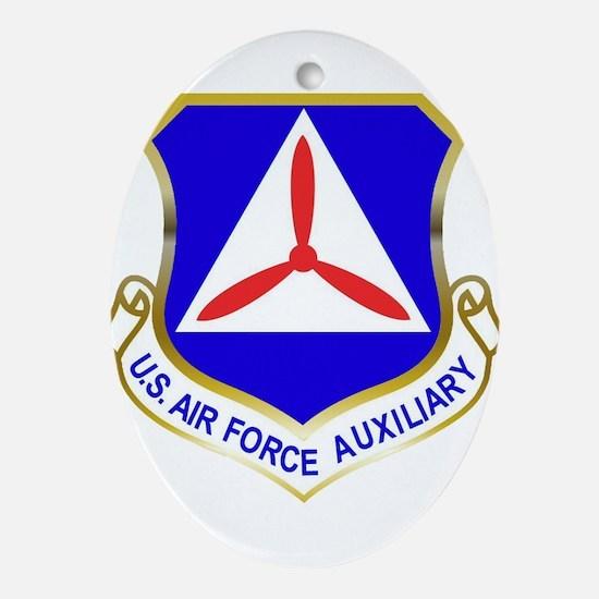 Civil Air Patrol Shield Oval Ornament