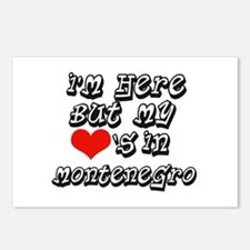 heart in Montenegro Postcards (Package of 8)