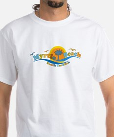 Myrtle Beach SC - Waves Design T-Shirt