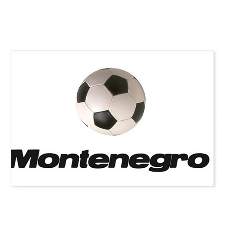 Montenegro Soccer Postcards (Package of 8)