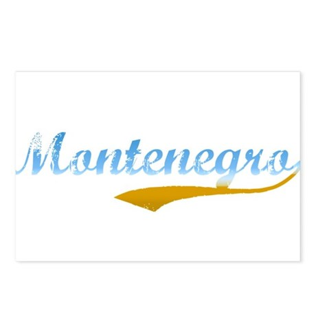 Beach Montenegro Postcards (Package of 8)