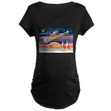 XmasStar/2 Basenjis T-Shirt