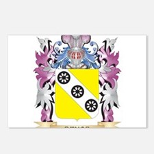 Devos Coat of Arms (Famil Postcards (Package of 8)