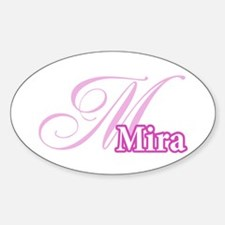 Mira Oval Decal