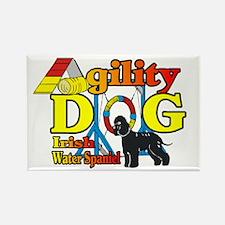 Irish Water Spaniel Ag Rectangle Magnet (100 pack)