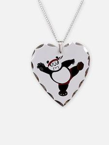Martial Arts Panda Necklace
