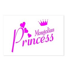 Mongolian princess Postcards (Package of 8)