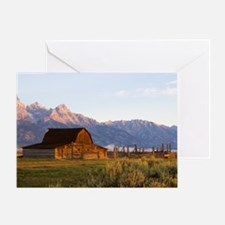 The Old Barn, Greeting Card